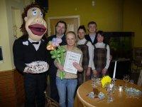 Награждение победительниц конкурса